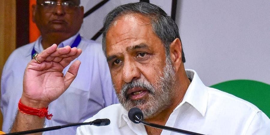 Senior Congress leader Anand Sharma