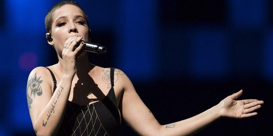 American singer-songwriter Halsey