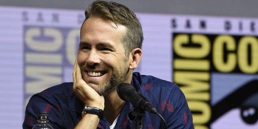 Hollywood actor Ryan Reynolds