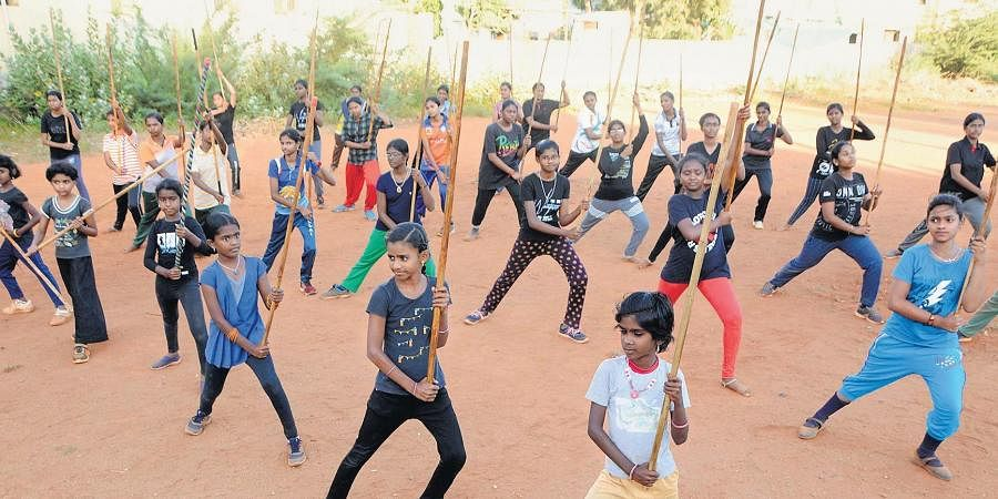 It was at the age of 10 that Sankaran's fascination with silambam led him to learning the craft from his father, Thirumalai Asan.