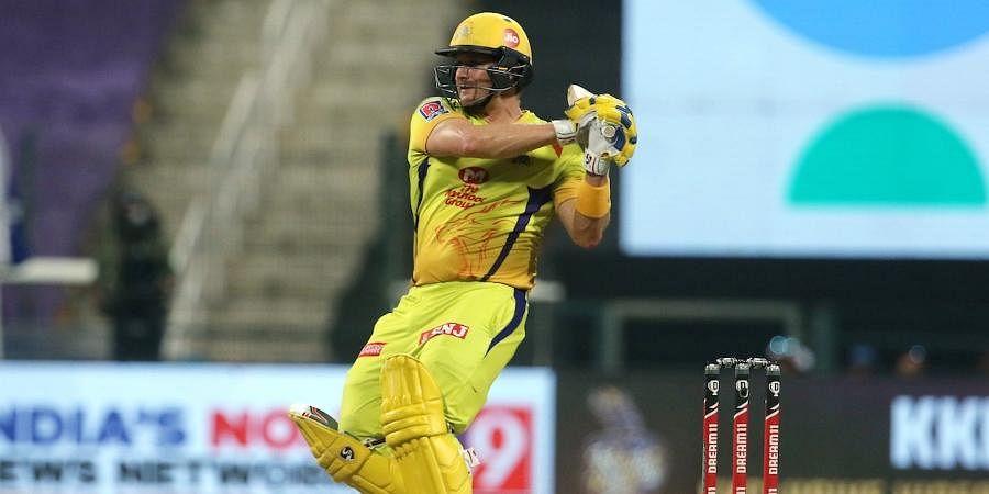 Chennai Super Kings batsman Shane Watson
