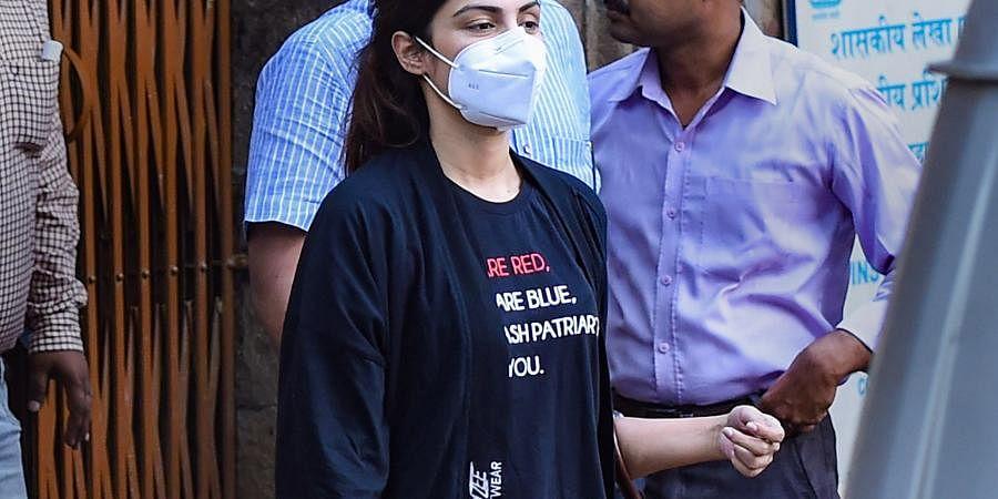 Bollywood actress Rhea Chakraborty