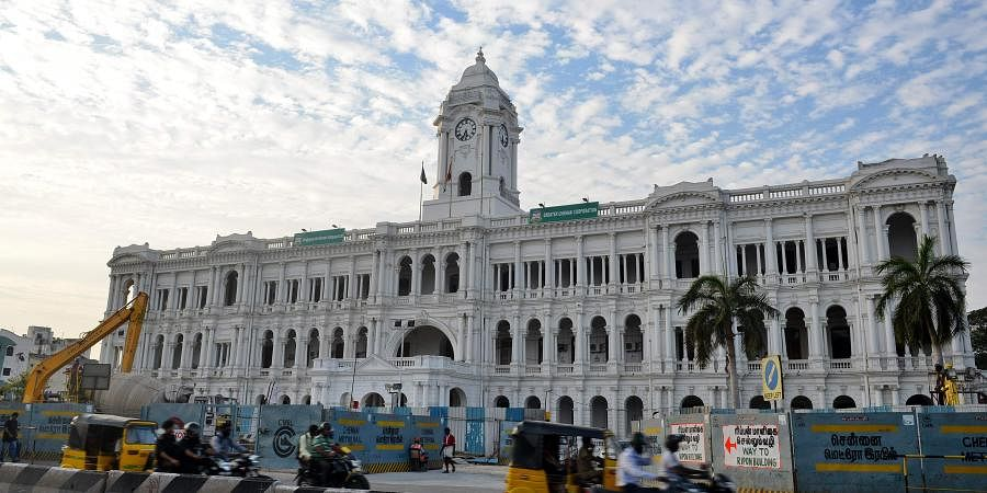 Chennai Corporation building