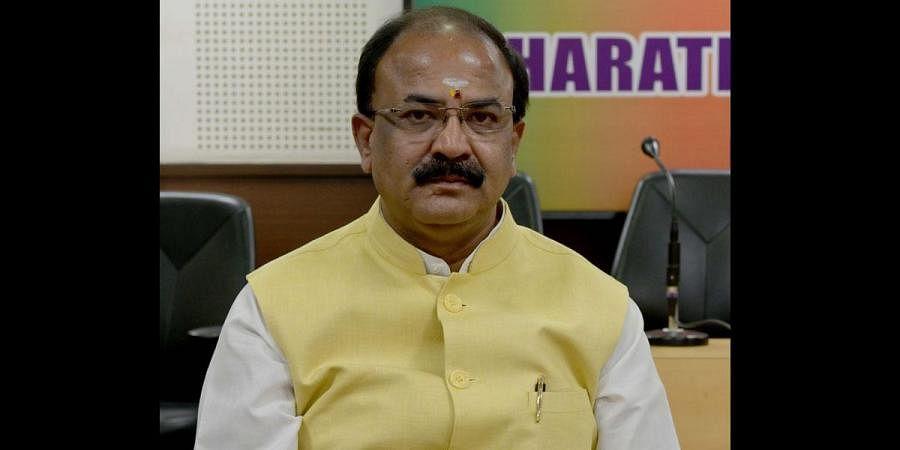 BJP leader Aravind Limbavali. (Photo | EPS)