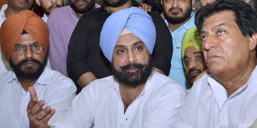 Punjab CM Amarinder Singh's son Raninder Singh