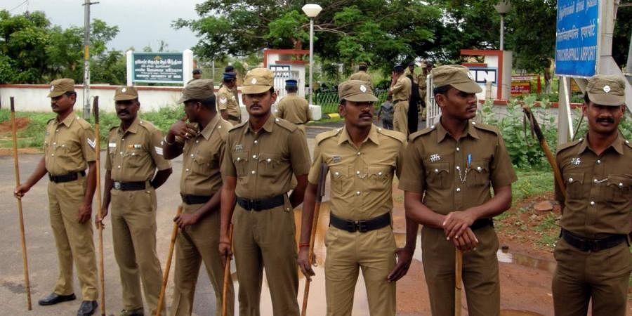 tamil nadu police, police officials, cops