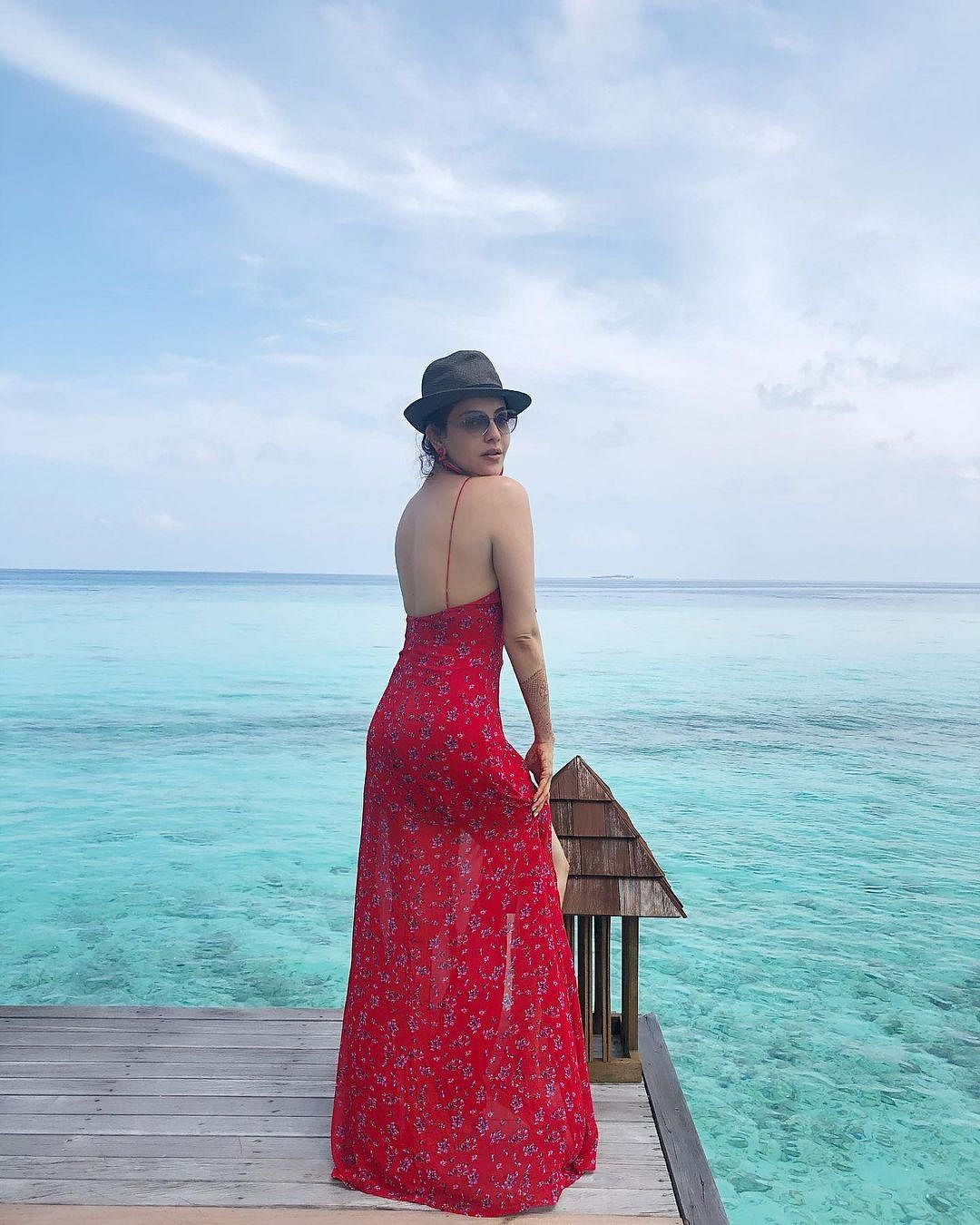On Sunday, Kajal took to her Instagram and shared a series of pictures from her honeymoon.