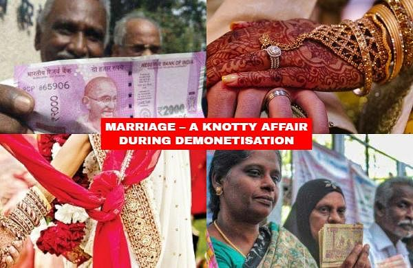 MARRIAGE – A KNOTTY AFFAIR DURING DEMONETISATION: Marriages are set to be a match made in heaven, but if your wedding was scheduled in the aftermath of demonetisation, then it was more likely to have been a match with your banker to get funds to pay for the expenses. Here are some of the many weddings that weathered the rough 'Demon' times.