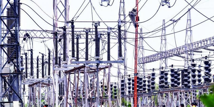 power lines, electricity, power, power demand, electrician