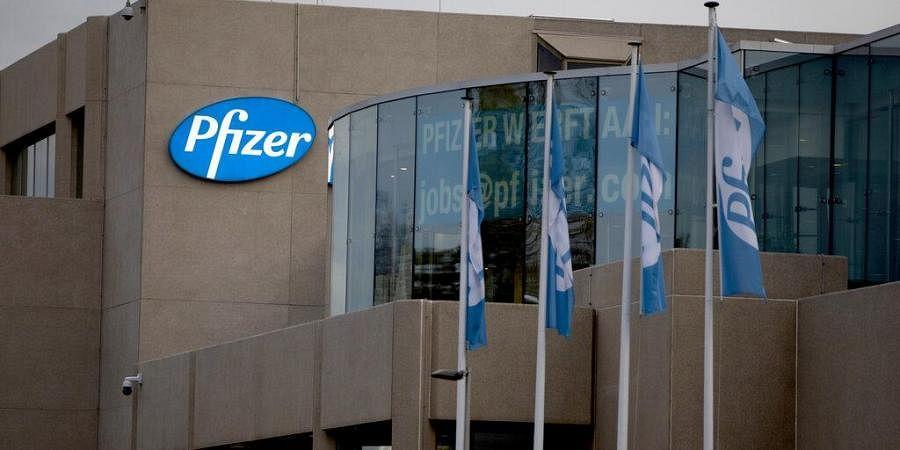 Pfizer Manufacturing Belgium in Puurs, Belgium.