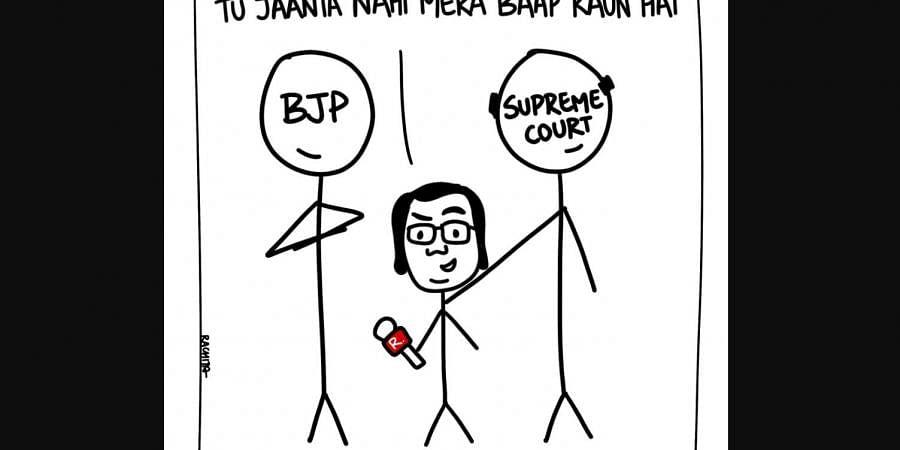 Cartoon by Rachita Taneja.