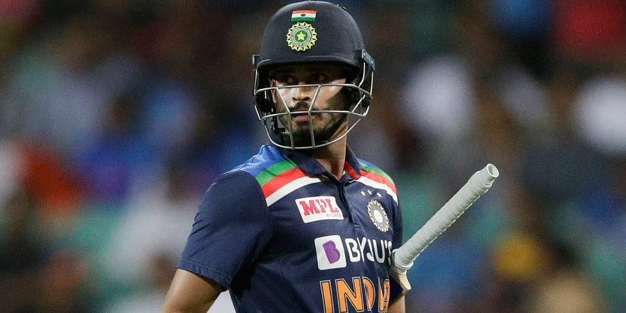 Indian batsman Shreyas Iyer