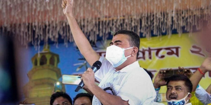 West Bengal Transport Minister Suvendu Adhikari. (Photo | PTI)