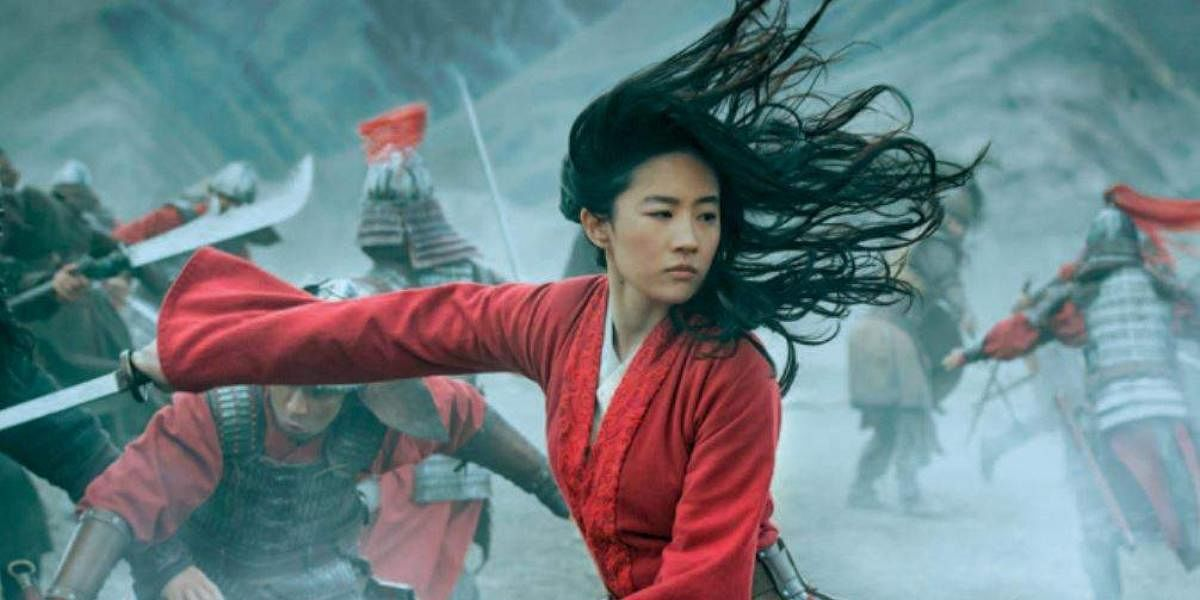 A still from Mulan
