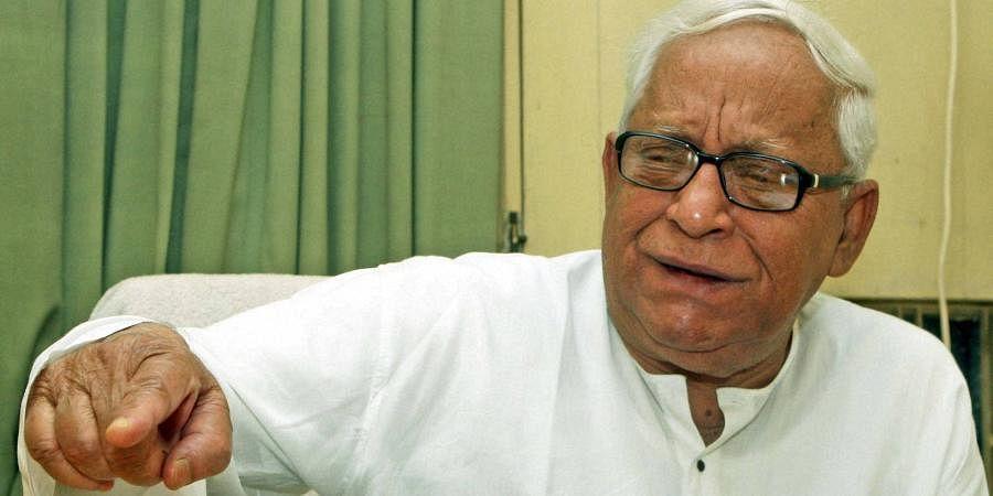 Former West BengalCM Buddhadeb Bhattacharya