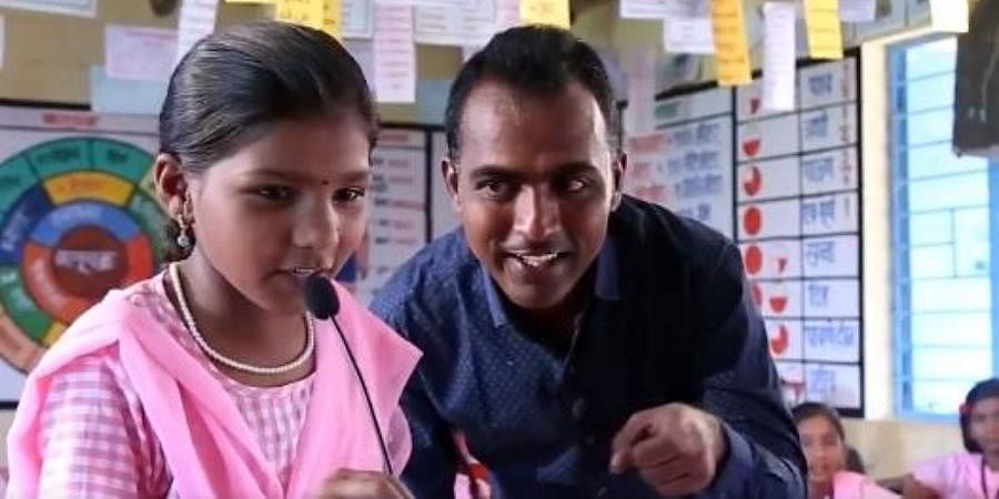 Global Teacher Award winner Ranjitsinh Disale