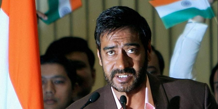 Bollywood actor Ajay Devgn