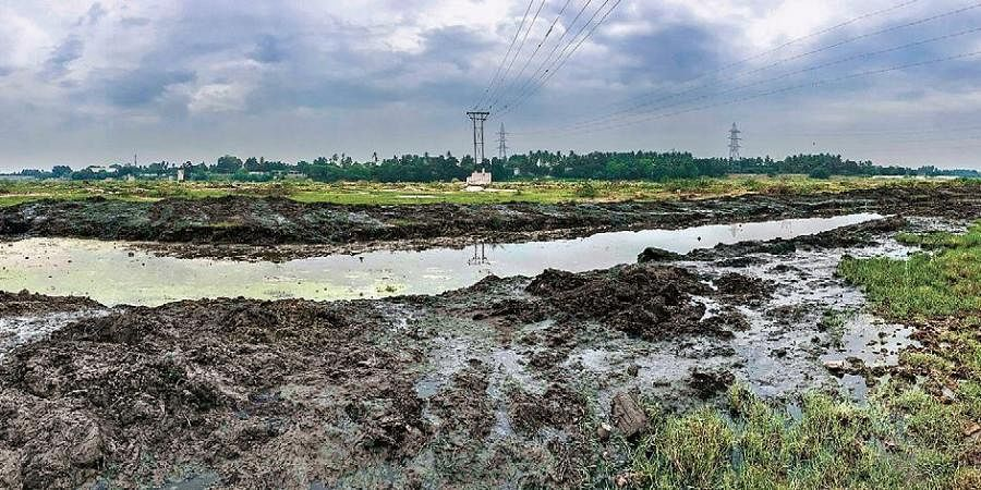 Industrial waste and sewage water