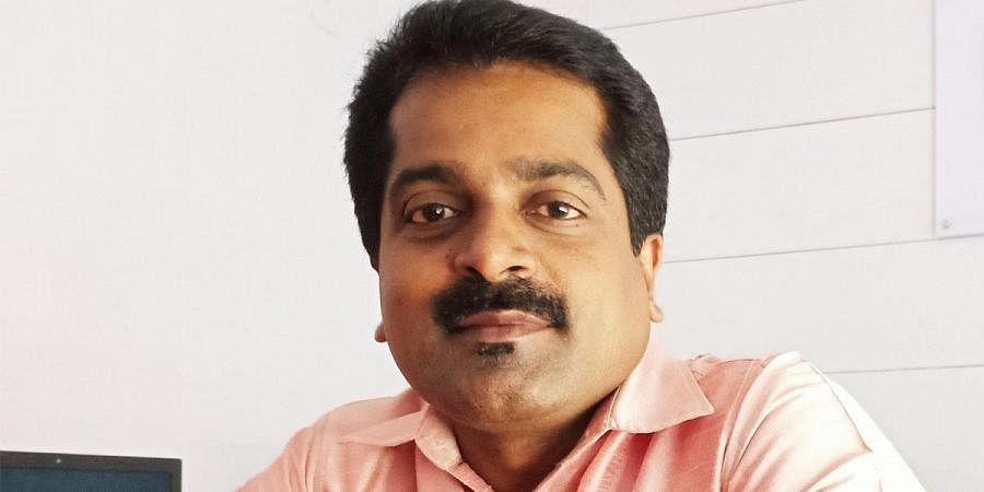 Journalist S V Pradeep