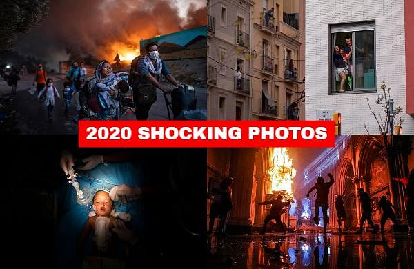 This is the world that photographers captured in 2020, a world beset by every sort of catastrophe -- natural and unnatural disaster, violent and non-violent conflict.