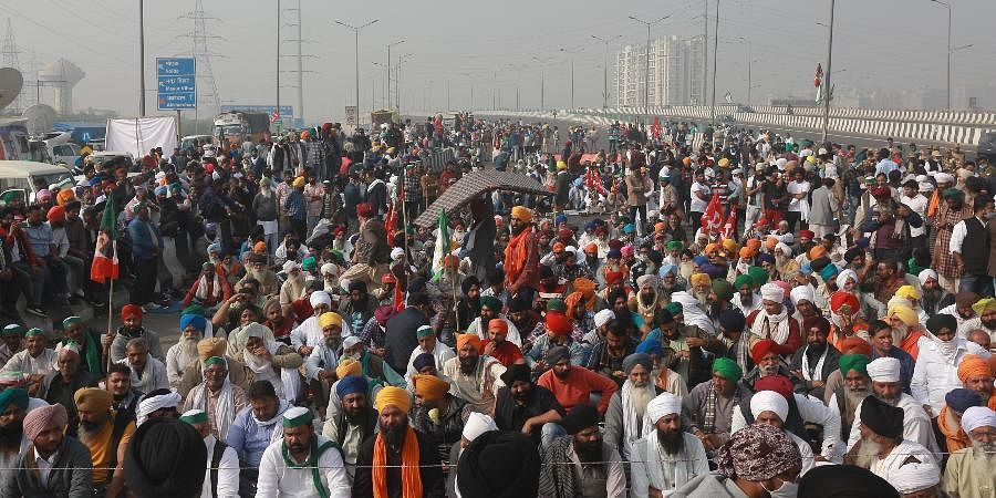 Thousands of farmers have been camping at several Delhi border points for 21 days on the trot, causing closure of several routes.