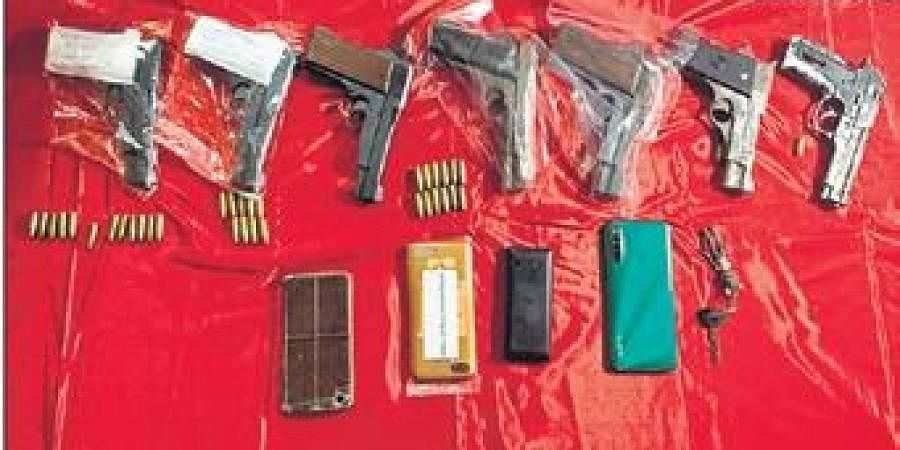 Preliminary investigation has revealed that the accused used to supply arms and ammunition to anti-socials for various crimes, including extortion.