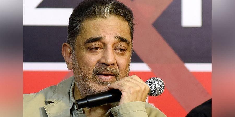 Makkal Needhi Maiam chief Kamal Haasan
