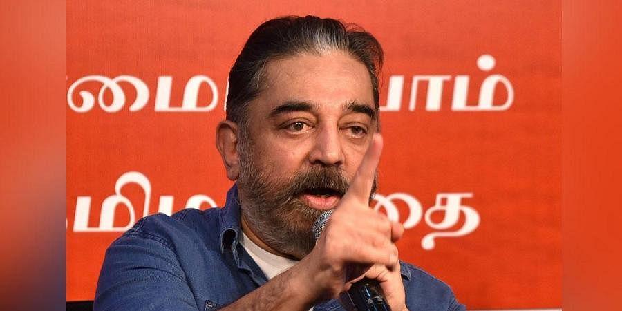 Makkal Needhi Maiam chief Kamal Haasan (Photo | R  Satish Babu, EPS)