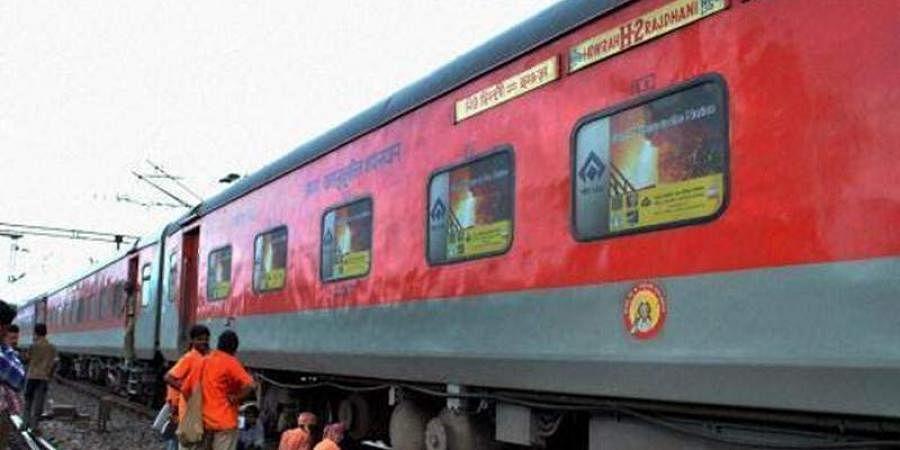 rajdhani express, railways