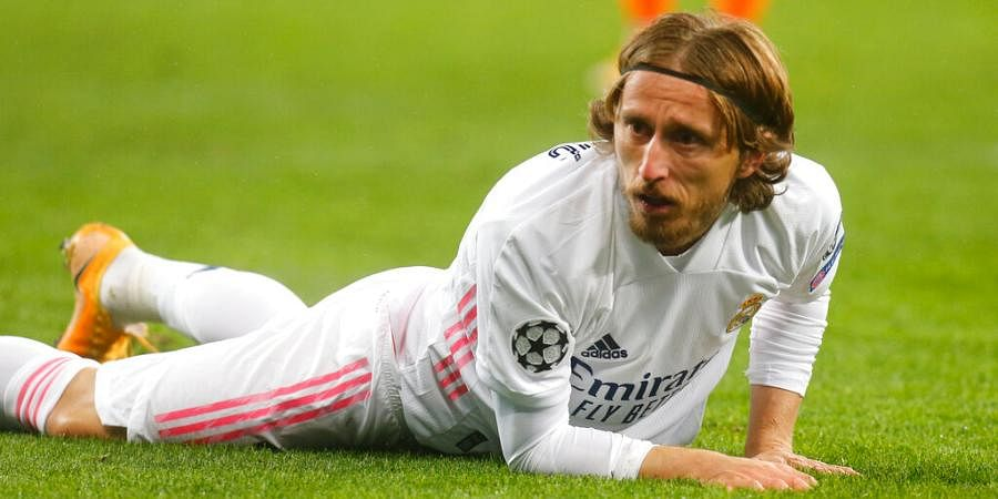 Luka Modric of Real Madrid | AP
