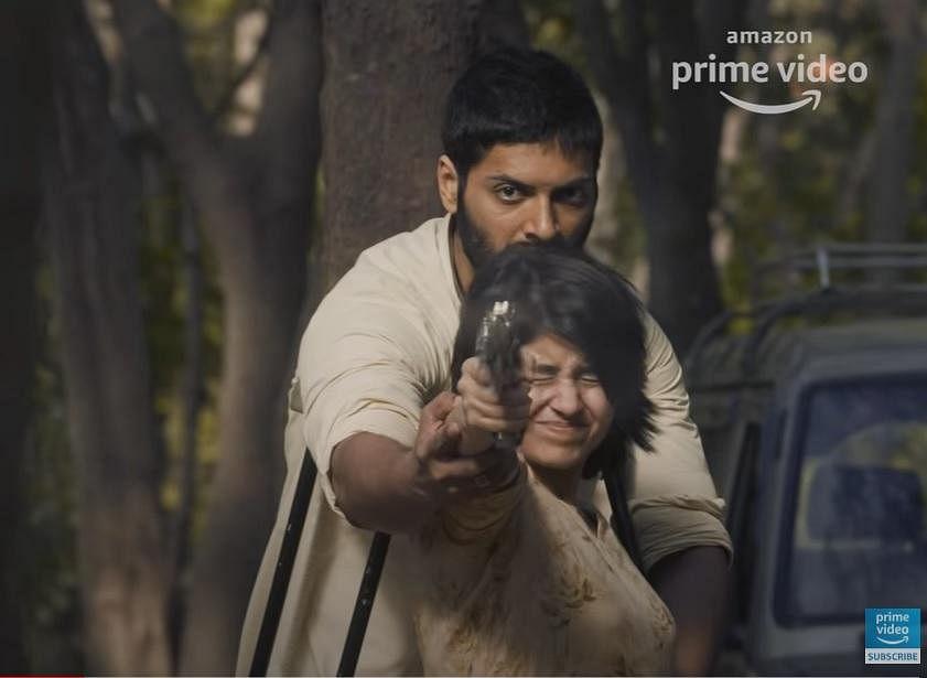 Sweta Tripathi and Ali Fazal in 'Mirzapur' season 2 trailer