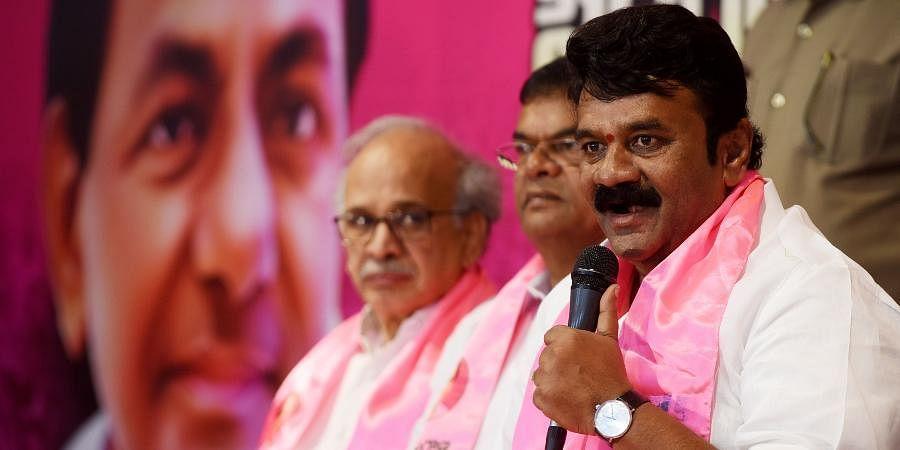 Telangana Minister for Animal Husbandry and Fisheries Talasani Srinivas Yadav