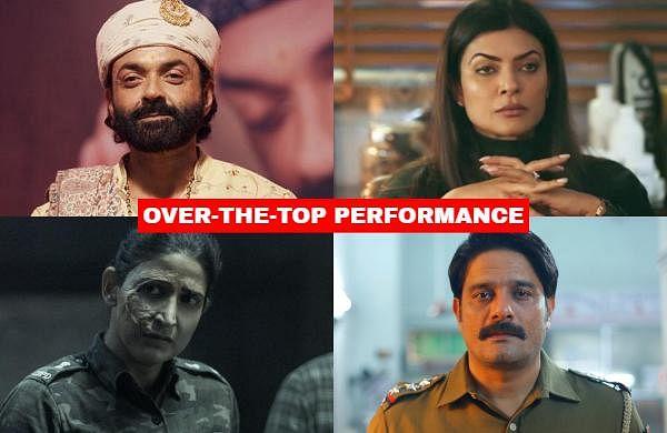 Bollywood actors on OTT