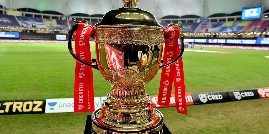 The dream 11 IPL trophy. (Photo | IPL)