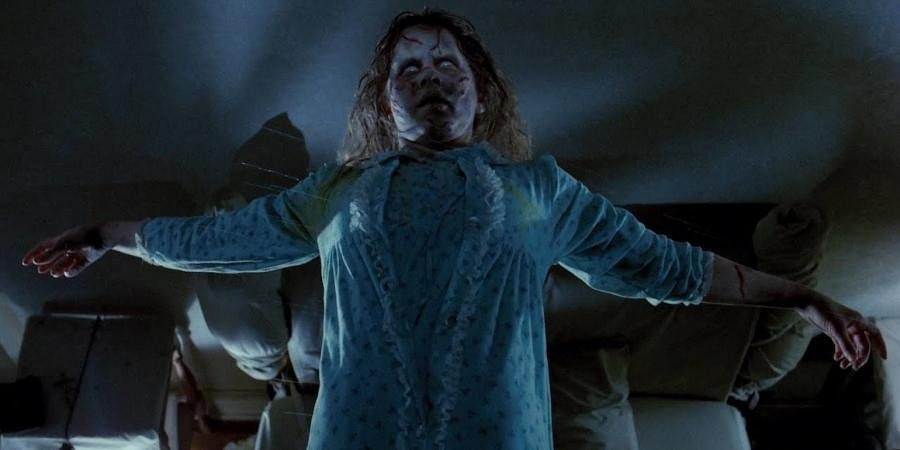 A still from 'The Exorcist'.