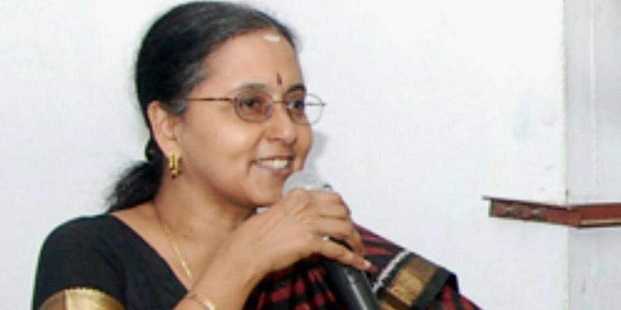 Former Tamil Nadu chief secretary Girija Vaidyanathan