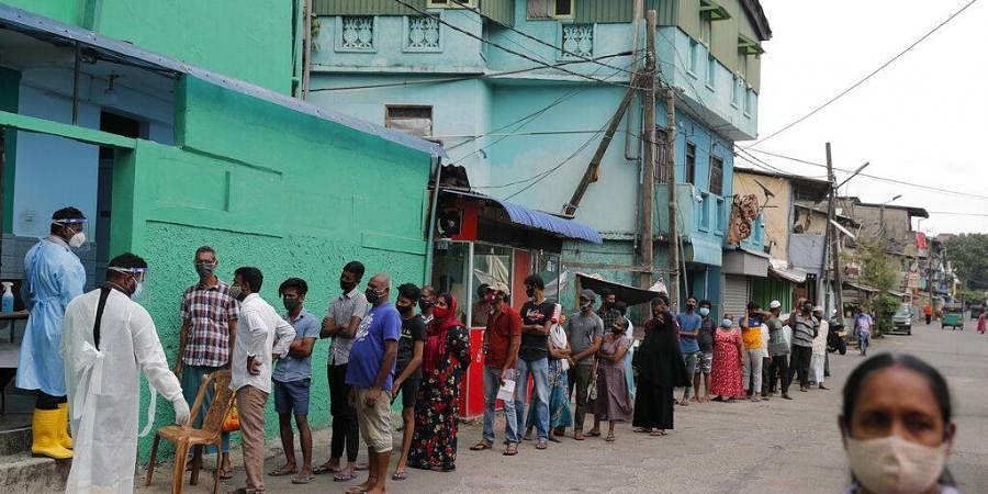 Sri lanka COVID cases