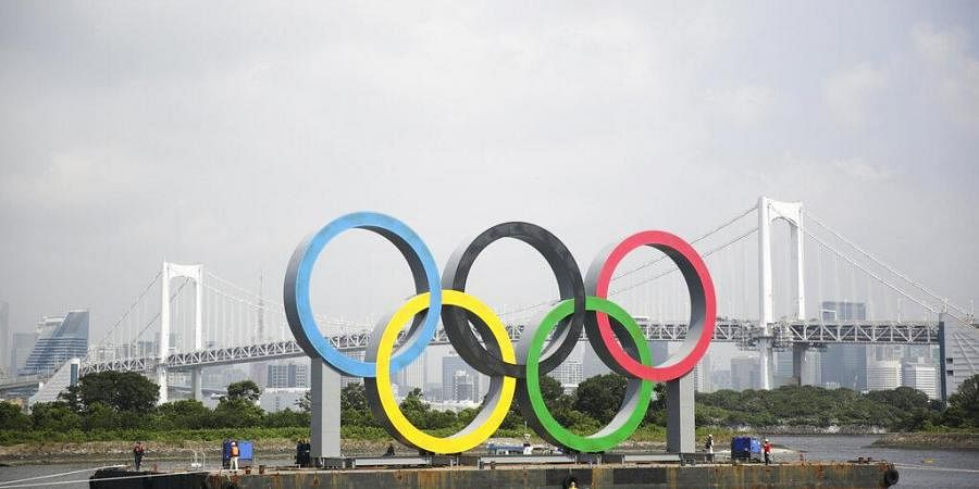 """Tokyo Olympic officials said they have reached a """"basic agreement"""" with all 68 domestic sponsors to extend their contracts into next year to support the postponed Games. (Photo 