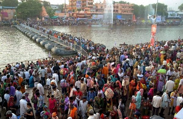 Maa Ganga will take care of us: Coronavirus fails to deter Kumbh Mela in Haridwar