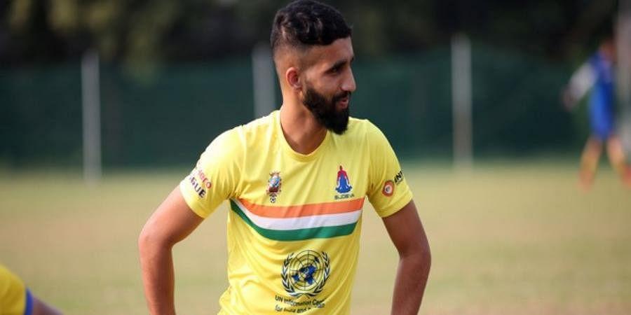 Sudeva Delhi FCforward Manvir Singh