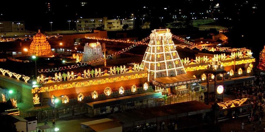 The Tirumala Tirupati Devasthanams (TTD) has decided to suspend darshan at the Srivari Temple, Tirumala for seven days after an elderly person with coronavirus symptoms collapsed near Srivari Temple.