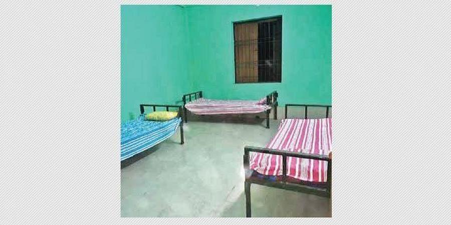 The shelter at Hirakud | express