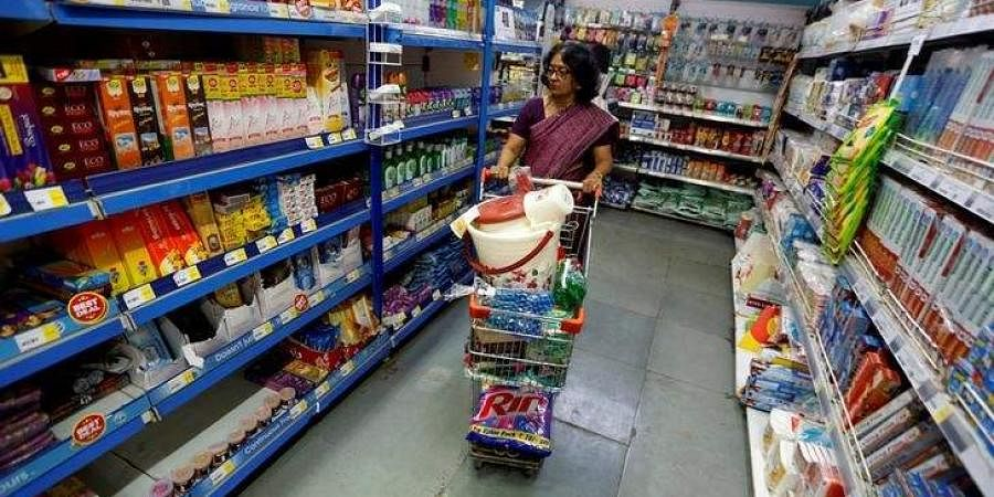 Retail inflation, shopping