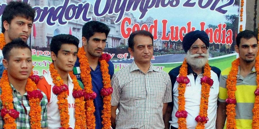 Former national boxing coach Gurbax Singh Sandhu