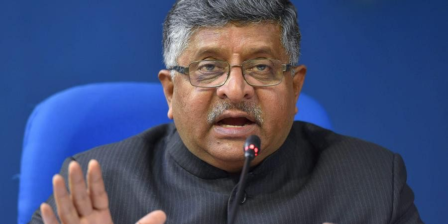 Law Minister Ravi Shankar Prasad