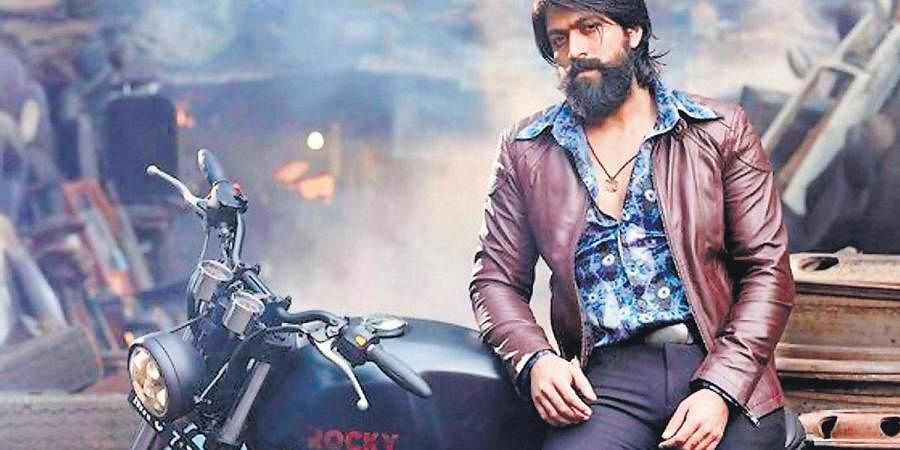 Yash in the upcoming film KGF: 2