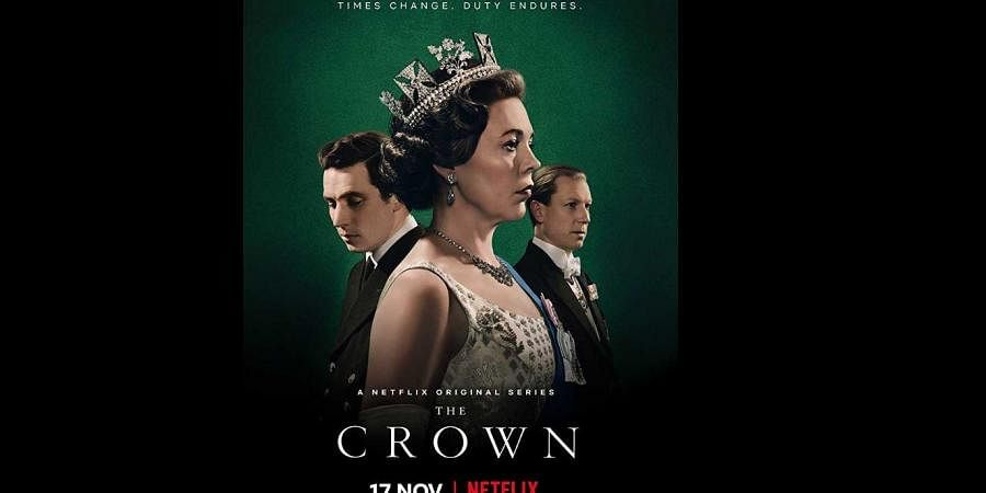 'The Crown' poster