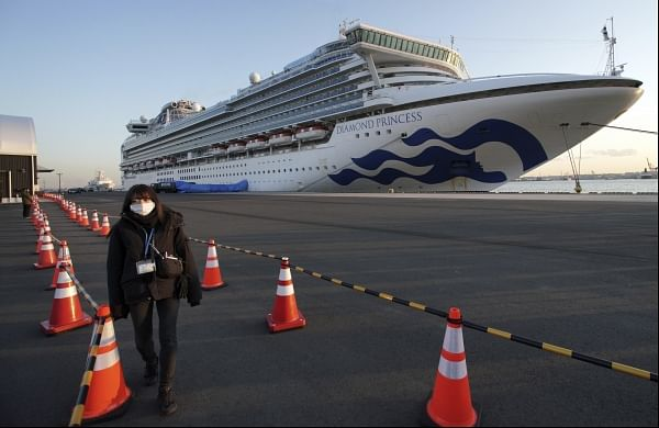 Third Indian crew on board cruise ship off Japanese coast tests positive for coronavirus