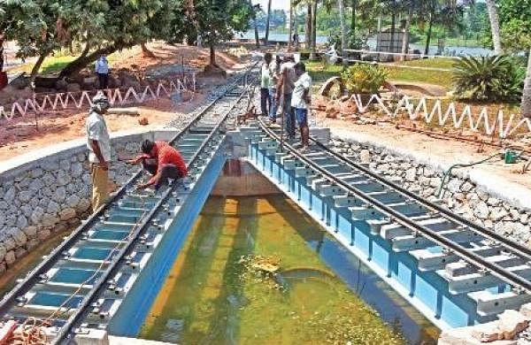 Miniature train to roll into Veli