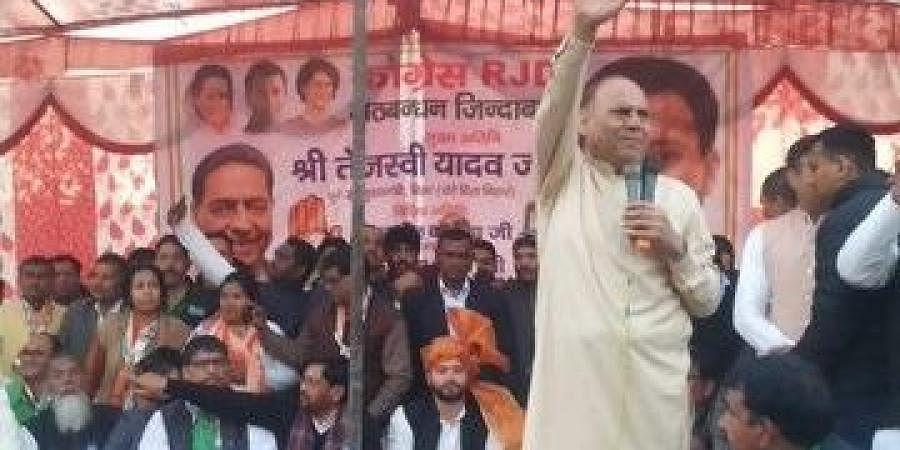 Congress candidate from Vikaspuri Mukesh Sharma
